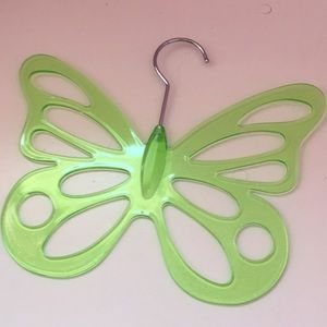 90s butterfly hanger in green! ✨Sparkly✨